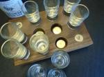 Peg Finder Shot Glass Set